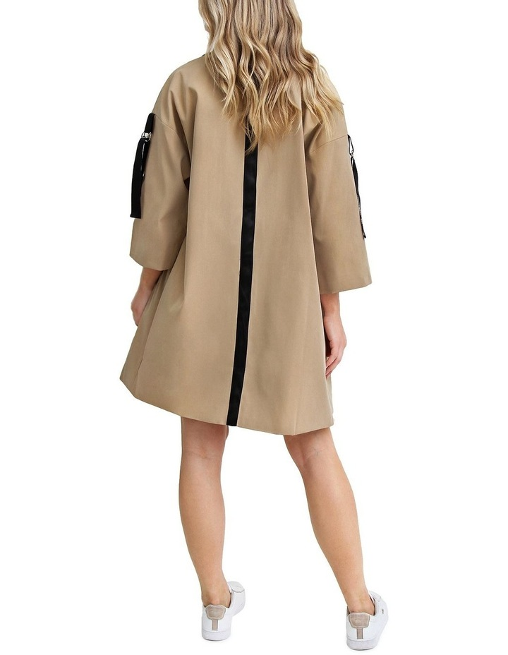 Russian Romance Camel Oversized Trench Coat image 4