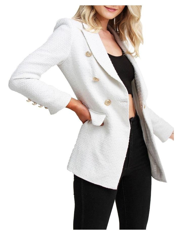 Princess Polly Rice Tweed Blazer image 2