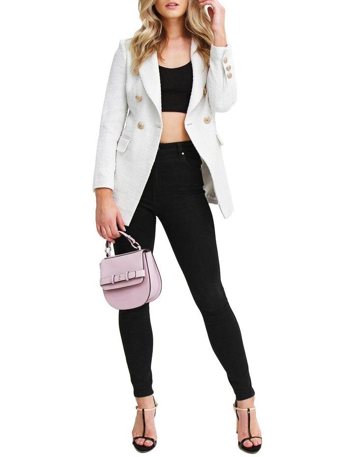 Princess Polly Rice Tweed Blazer image 3