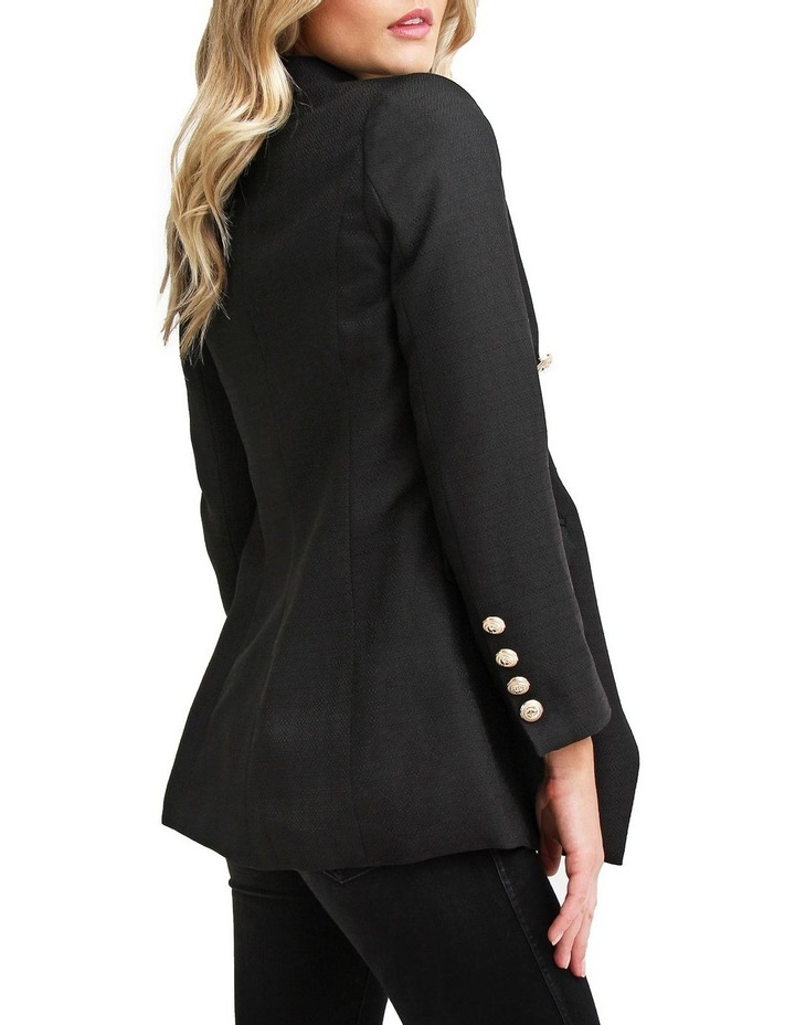 Princess Polly Black Tweed Blazer image 4