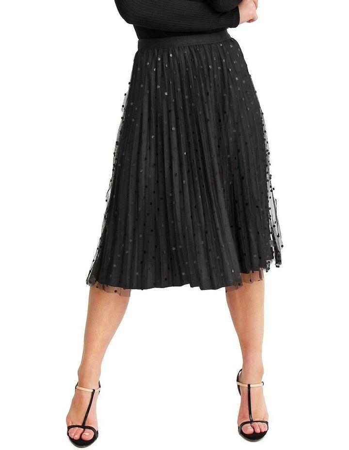 Mixed Feelings Black Reversible Skirt image 1