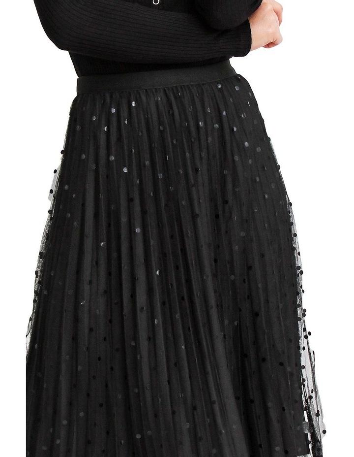 Mixed Feelings Black Reversible Skirt image 4