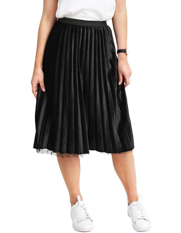 Mixed Feelings Black Reversible Skirt image 5