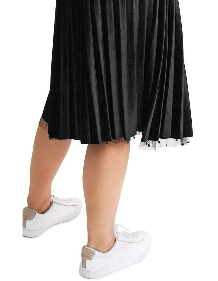 Mixed Feelings Black Reversible Skirt image 6