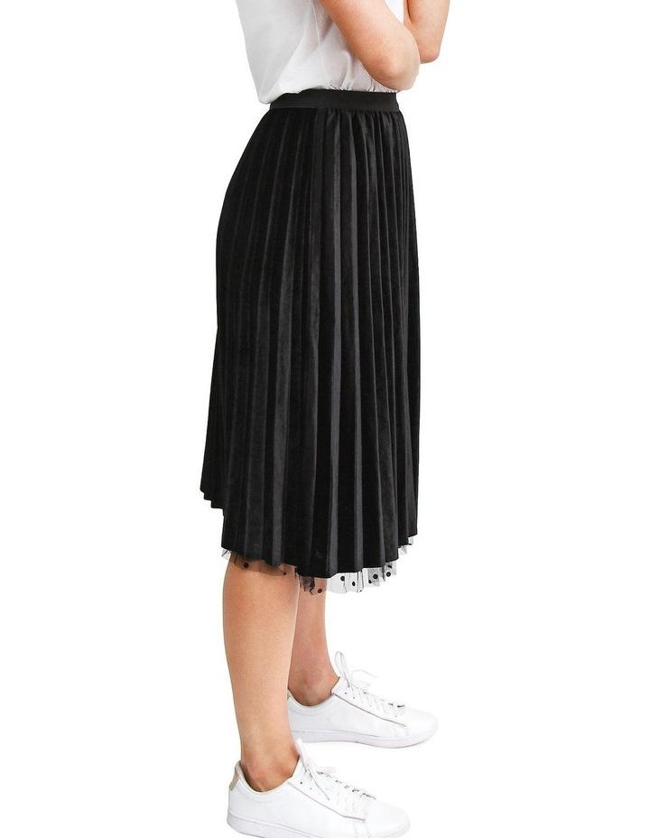 Mixed Feelings Black Reversible Skirt image 7