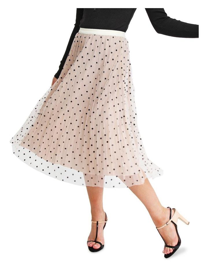 Mixed Feelings Beige Reversible Skirt image 1