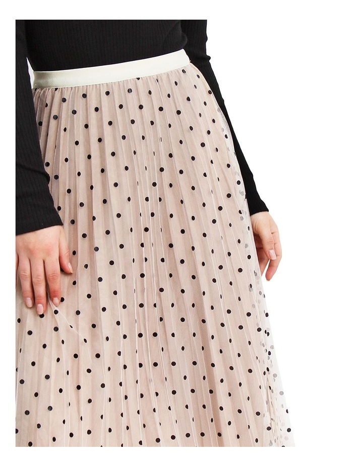 Mixed Feelings Beige Reversible Skirt image 3