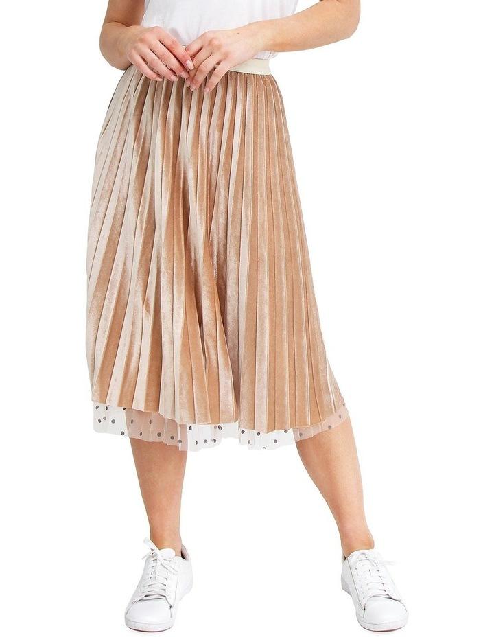 Mixed Feelings Beige Reversible Skirt image 4