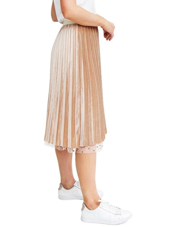Mixed Feelings Beige Reversible Skirt image 5