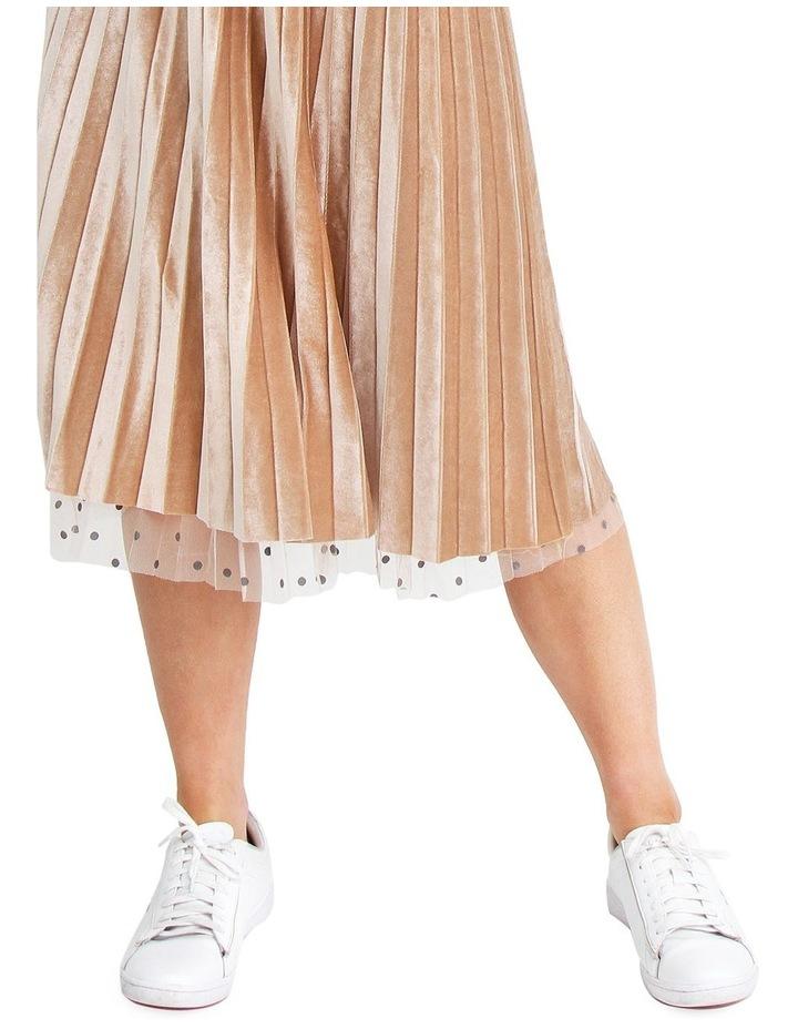 Mixed Feelings Beige Reversible Skirt image 6