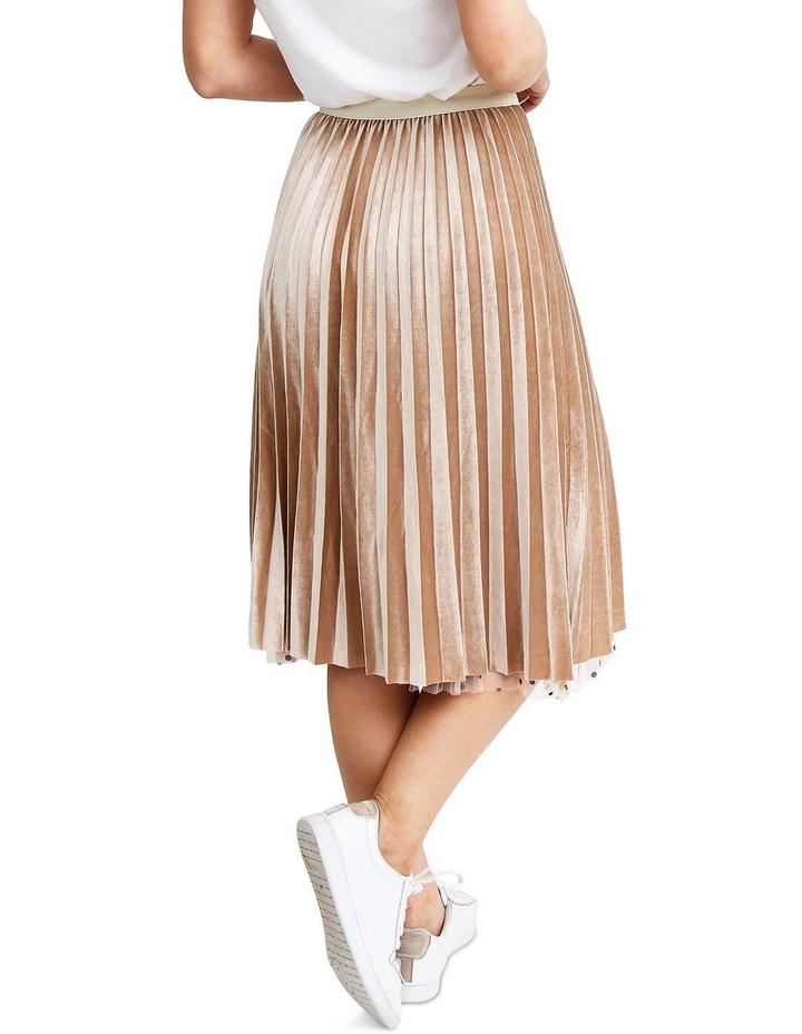 Mixed Feelings Beige Reversible Skirt image 7