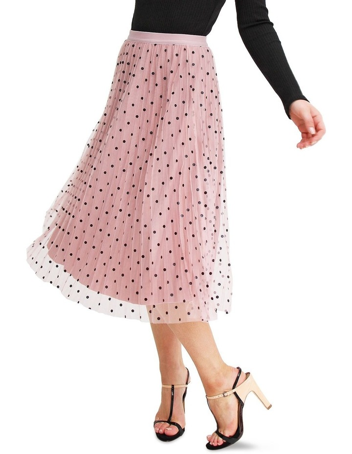 Mixed Feelings Pink Reversible Skirt image 1