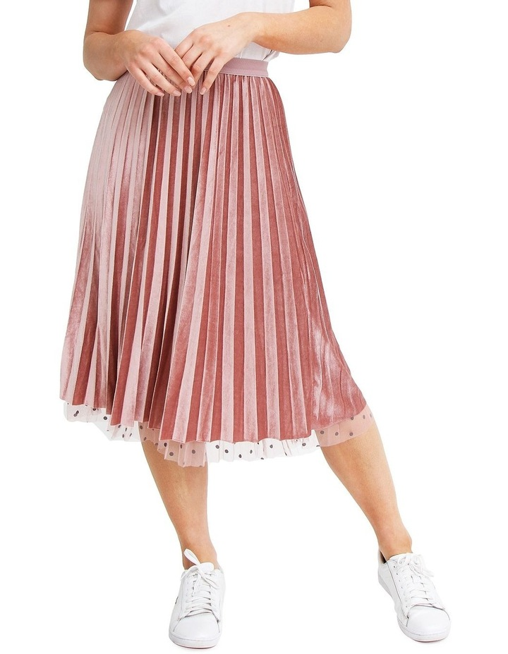 Mixed Feelings Pink Reversible Skirt image 5