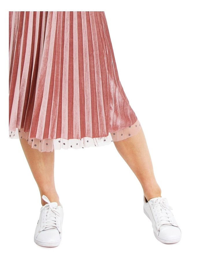 Mixed Feelings Pink Reversible Skirt image 6