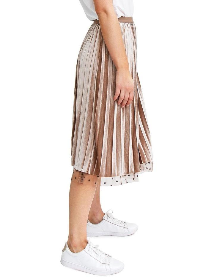 Mixed Feeling Mushroom Reversible Skirt MF400KHA image 5