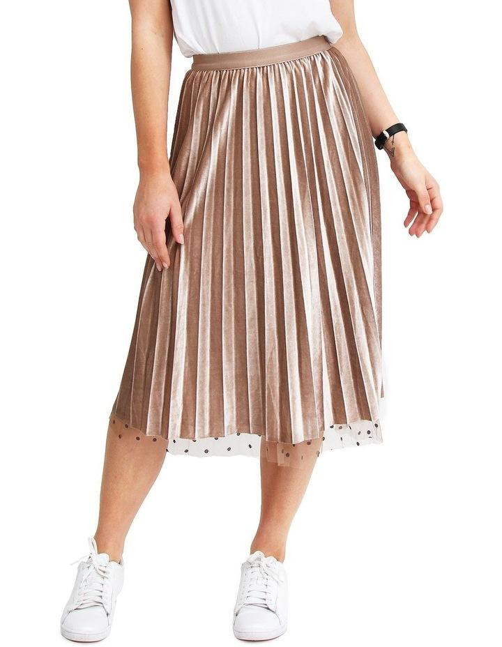 Mixed Feeling Mushroom Reversible Skirt MF400KHA image 6