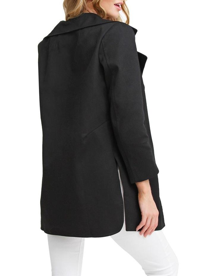 Summer Night by Ex-Boyfriend Black Oversized Jacket image 3