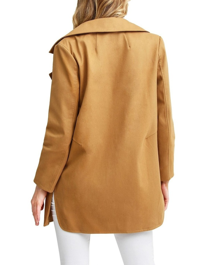 Summer Night by Ex-Boyfriend Camel Oversized Jacket image 3