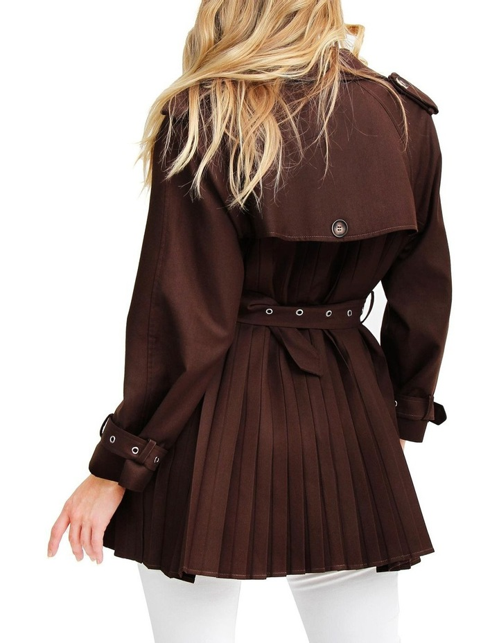Wish You Were Mine Coffee Belted Jacket image 3