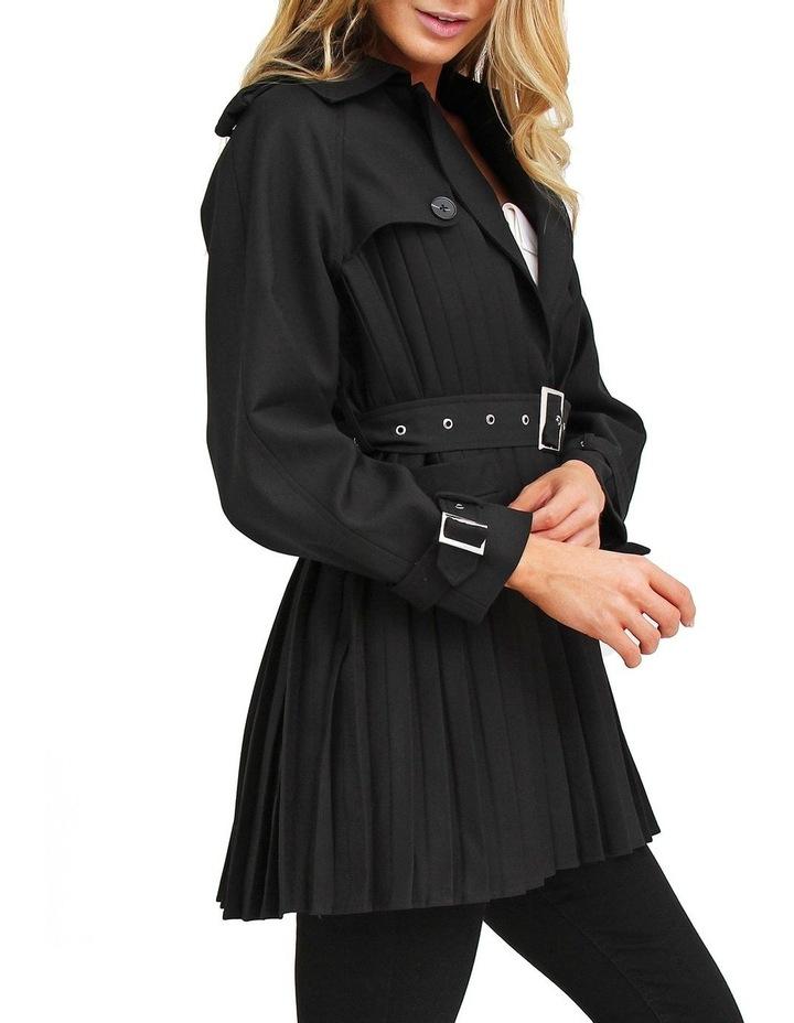 Wish You Were Mine Black Belted Jacket image 2