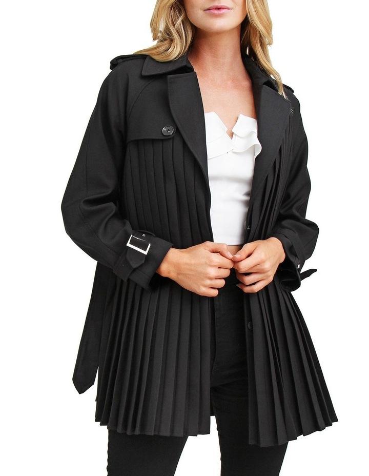 Wish You Were Mine Black Belted Jacket image 4