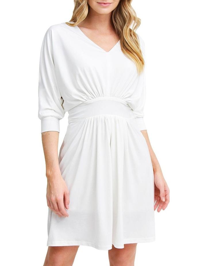 Morning Light White Mini Dress image 1