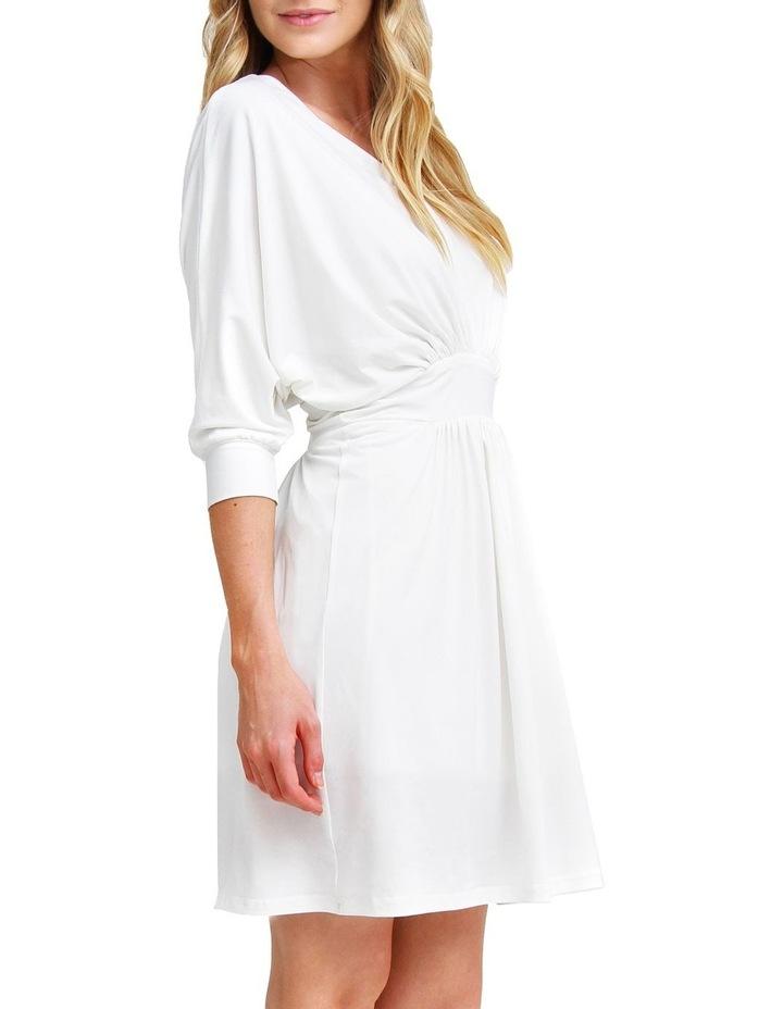 Morning Light White Mini Dress image 2