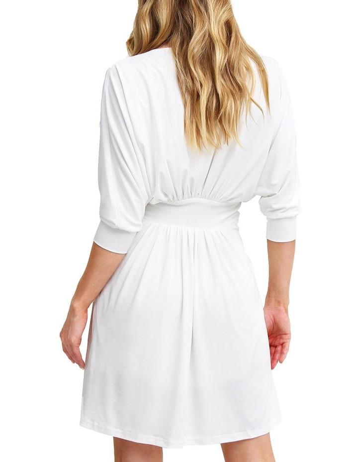 Morning Light White Mini Dress image 3