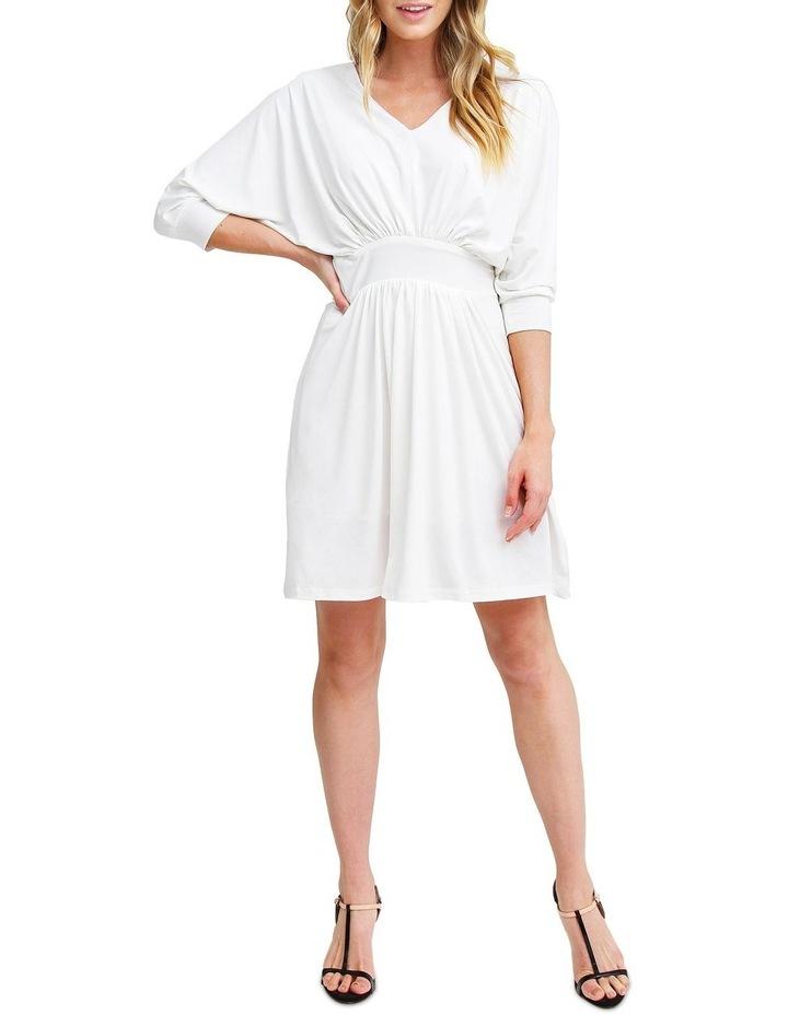 Morning Light White Mini Dress image 4