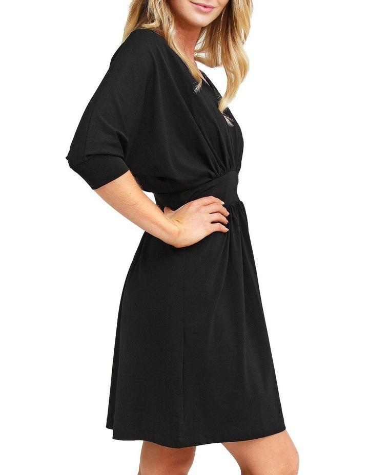 Morning Light Black Mini Dress image 2
