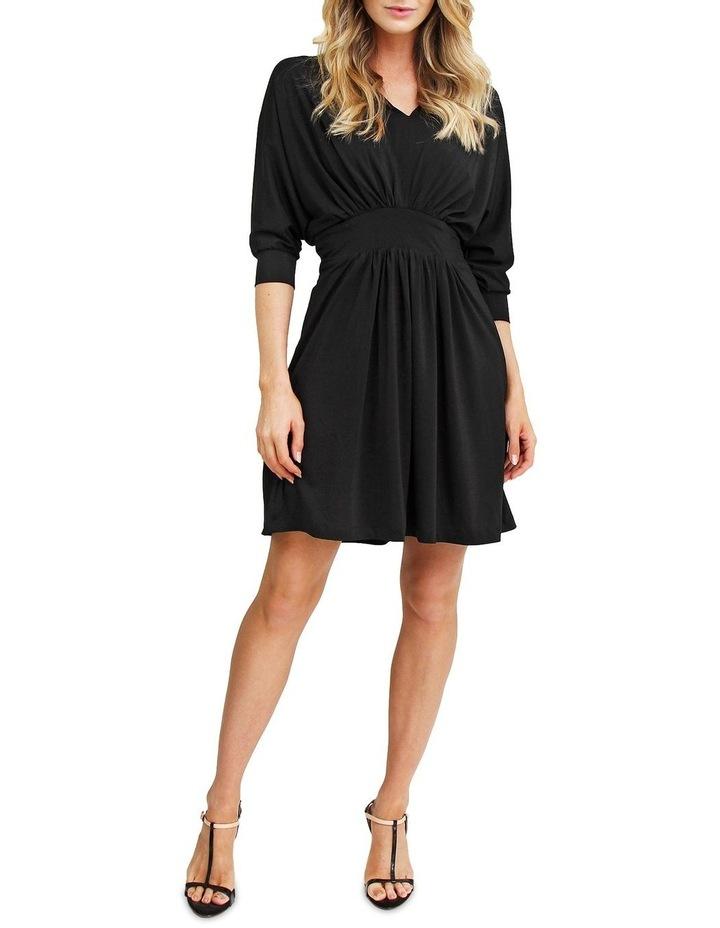 Morning Light Black Mini Dress image 4