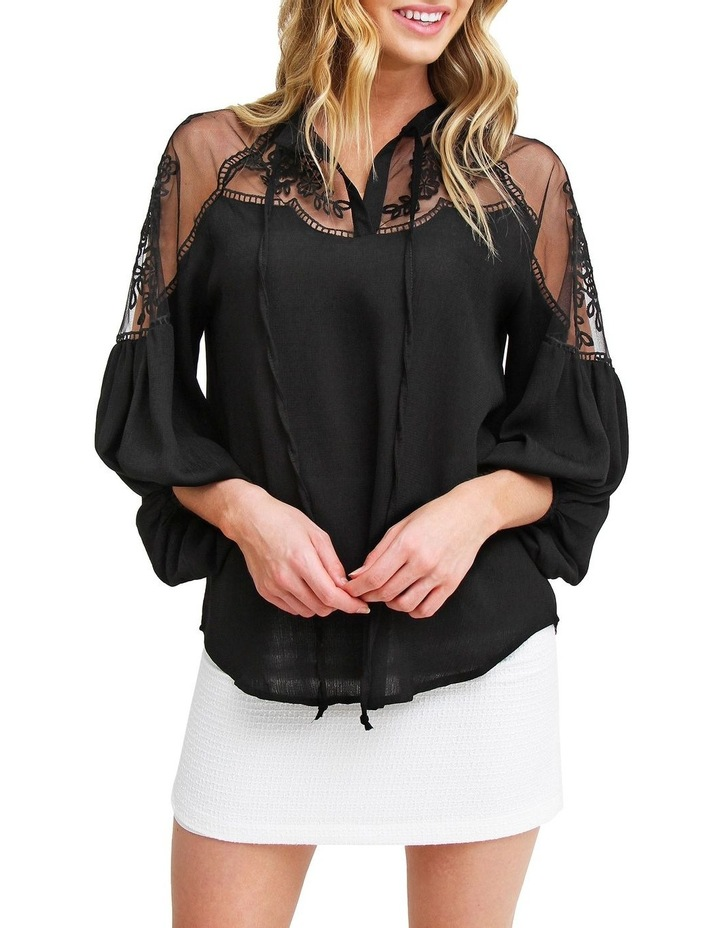 Bronte Afternoon Black Blouse image 1