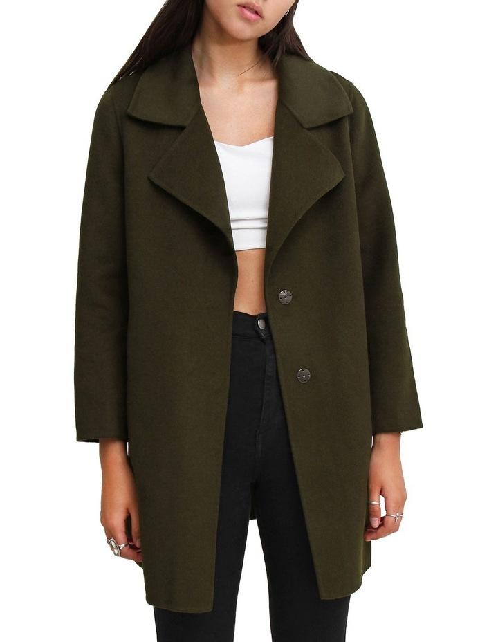 Ex-Boyfriend Military Oversized Wool Blend oversized Jacket image 1