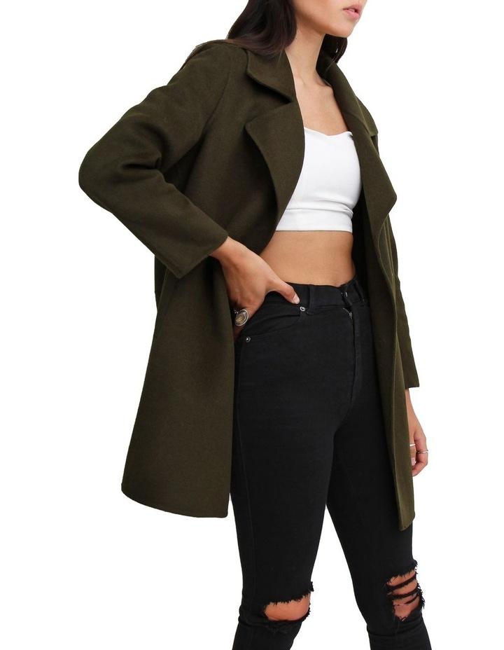 Ex-Boyfriend Military Oversized Wool Blend oversized Jacket image 2