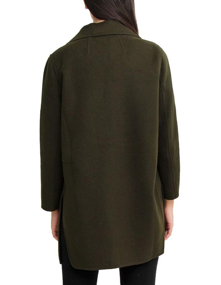 Ex-Boyfriend Military Oversized Wool Blend oversized Jacket image 3