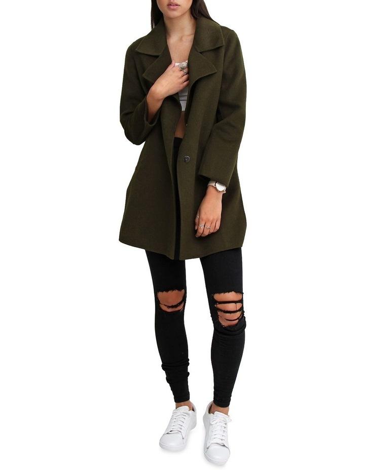 Ex-Boyfriend Military Oversized Wool Blend oversized Jacket image 5
