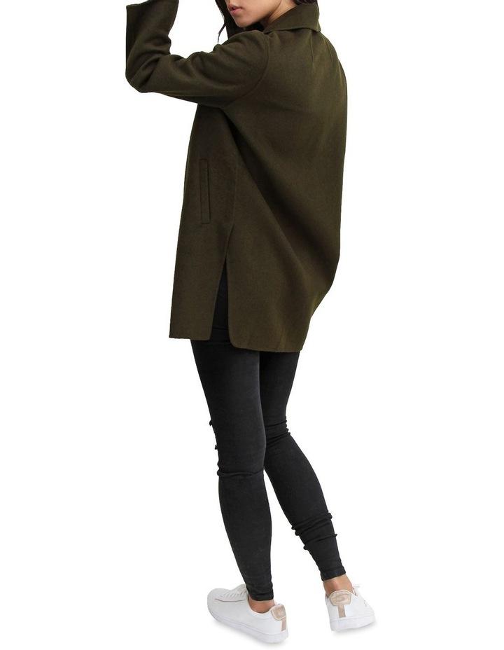 Ex-Boyfriend Military Oversized Wool Blend oversized Jacket image 6