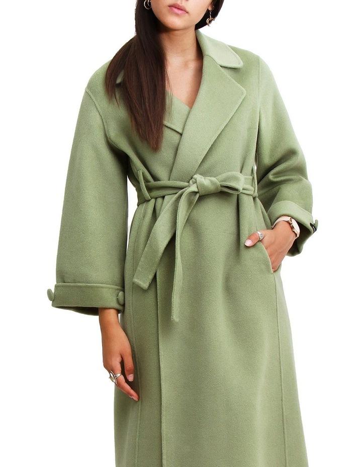 Stay Wild Grass Wool Oversized Coat image 1
