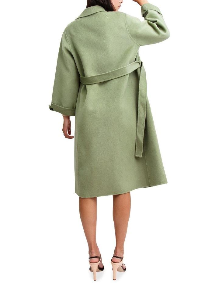 Stay Wild Grass Wool Oversized Coat image 3