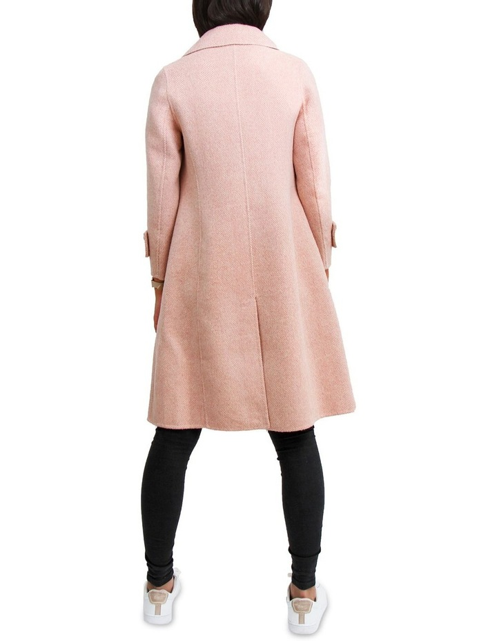 Endless Attention Rose Pink Wool Coat image 3