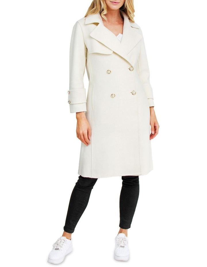 Endless Attention Rice Wool Coat image 1