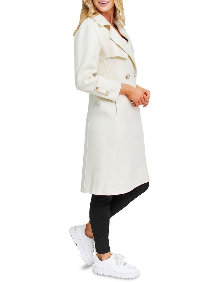 Endless Attention Rice Wool Coat image 2