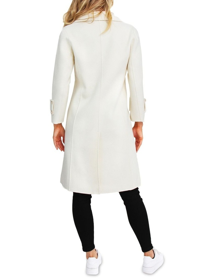 Endless Attention Rice Wool Coat image 3