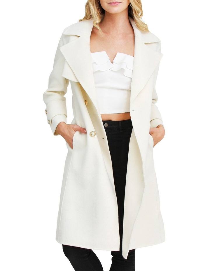 Endless Attention Rice Wool Coat image 4