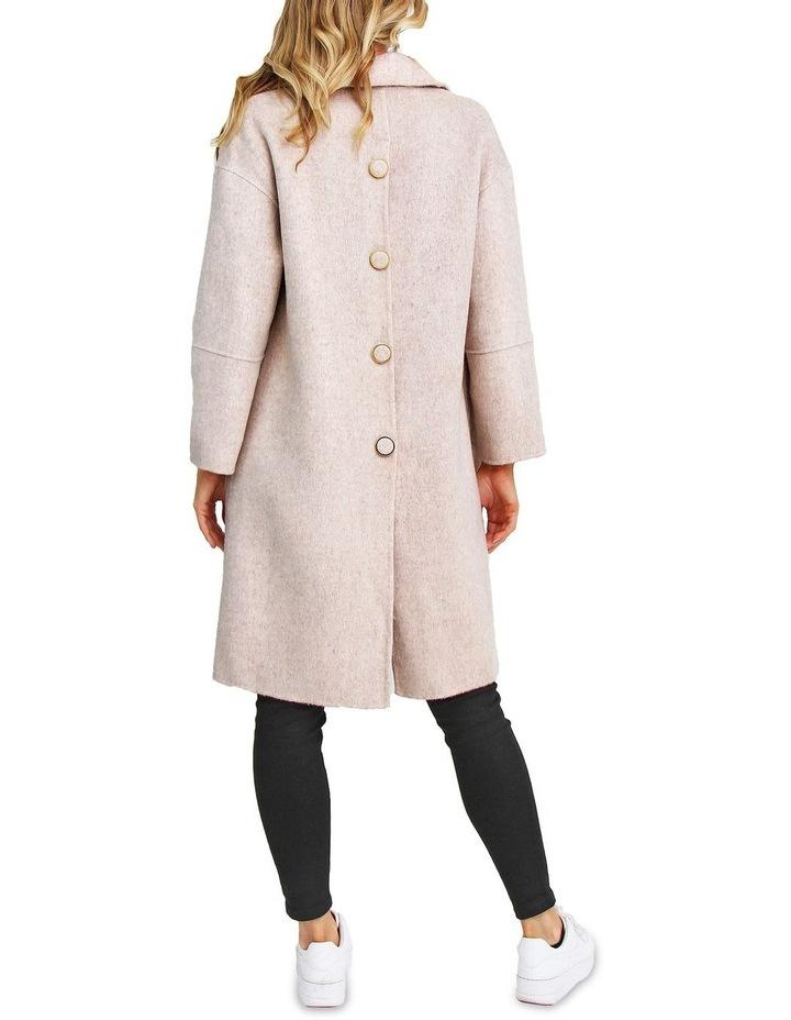 So Chic Beige Wool Blend Coat image 3