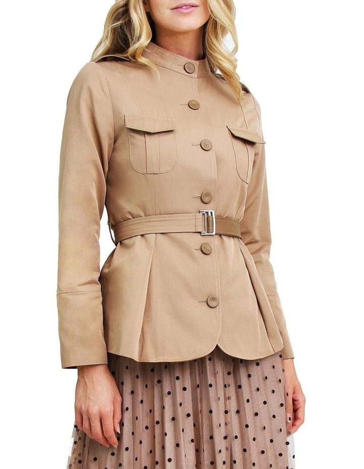 Secret Crush Linseed Belted Blazer image 1