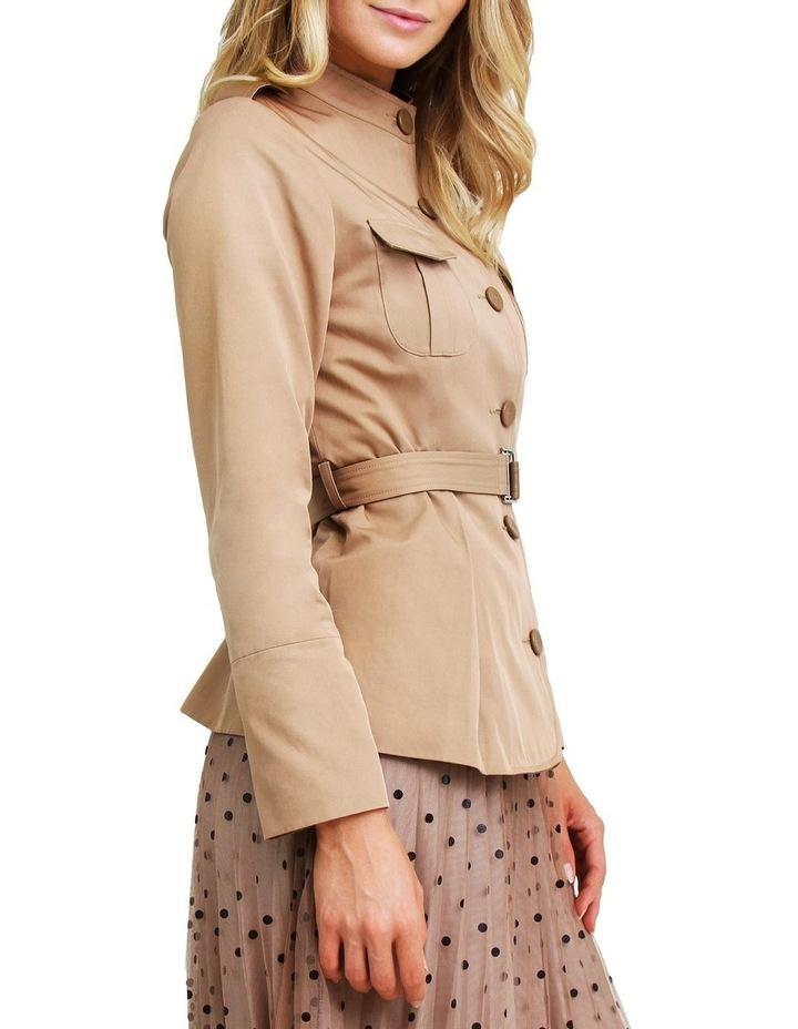 Secret Crush Linseed Belted Blazer image 2