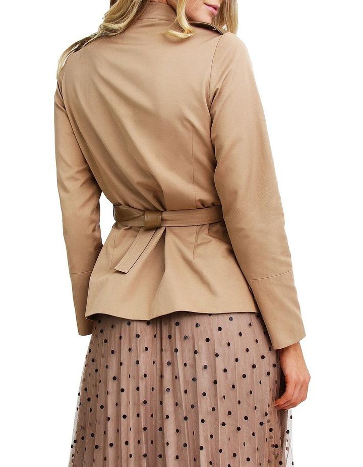 Secret Crush Linseed Belted Blazer image 3