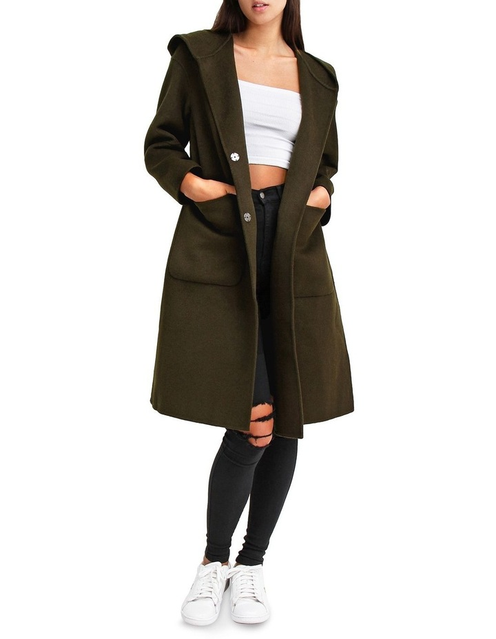 Walk This way Military Wool blend Oversized Coat image 1