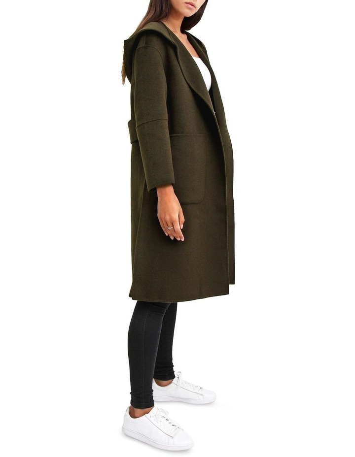 Walk This way Military Wool blend Oversized Coat image 2